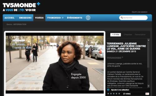 Sur le site de TV5MONDE PLus.
